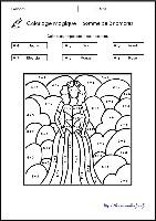 Coloriage Magique Printemps Grande Section.Coloriages Magiques Gs Cp Ce1 Ce2 Les Coccinelles