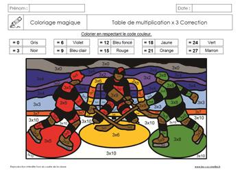 Coloriage Magique Calcul Cp.Coloriages Magiques Gs Cp Ce1 Ce2 Les Coccinelles
