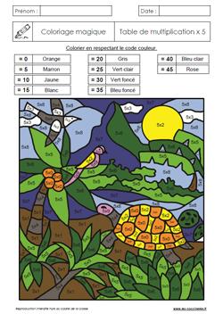 Coloriages magiques GS CP CE1 CE2 - Les Coccinelles