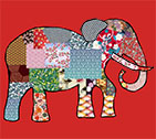 El�phant patchwork
