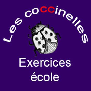 Assez Les coccinelles : fiches d'exercices pour l'école GS CP CE1 CE2 PV52